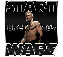 conor mcgregor - start wars  Poster