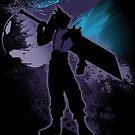 Super Smash Bros. Black Cloud Silhouette by jewlecho