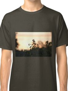 Sunset leaves silhouette Classic T-Shirt
