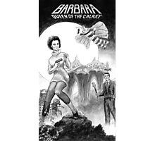 Barbara - Queen of the Galaxy Photographic Print