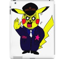picachu police  t-shirt_hoodie iPad Case/Skin