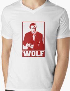 The Wolf Mens V-Neck T-Shirt