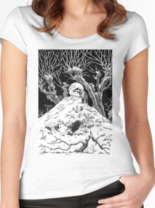 Wild Wood Women's Fitted Scoop T-Shirt