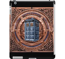 Aztec Time Travel Box full color Pencils sketch Art iPad Case/Skin
