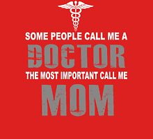 Doctor- Mom Womens Fitted T-Shirt