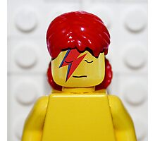 Bowie-LEGO Photographic Print