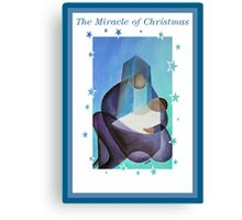 The Miracle Of Christmas Canvas Print