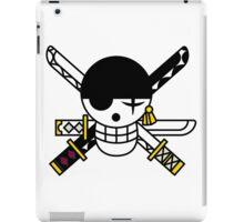 zoro flag iPad Case/Skin