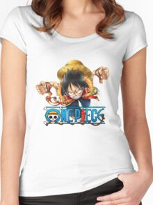 luffy Women's Fitted Scoop T-Shirt