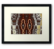 Geometric Patterns No. 57 Framed Print