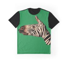 cool zebra hand Graphic T-Shirt