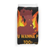 Annie League of Legends You wanna play too? Duvet Cover