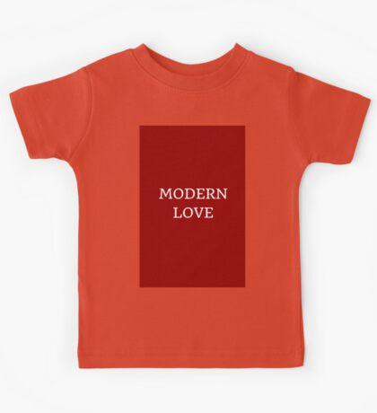 MODERN LOVE Kids Tee