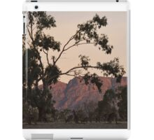 Kangaroos at the Mountain Side by Lorraine McCarthy iPad Case/Skin