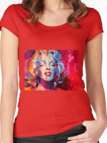 Marylin Monroe Women's Fitted Scoop T-Shirt
