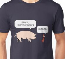 Bacon I Am Your Father Star Wars Unisex T-Shirt