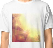 Abstract Geometric Background Classic T-Shirt