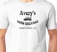 Avery's Auto Salvage Unisex T-Shirt