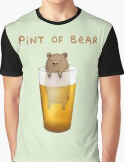 Pint of Bear Graphic T-Shirt