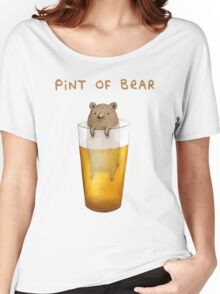 Pint of Bear Women's Relaxed Fit T-Shirt