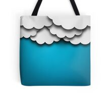 Cloudy Background Tote Bag