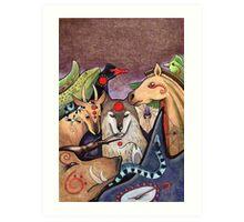 DIY Totemism - Cover Art Art Print