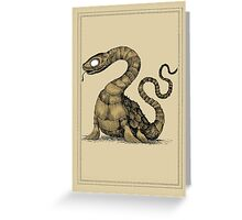 Plesiosaur Greeting Card