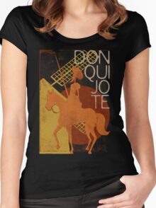 Books Collection: Don Quixote Women's Fitted Scoop T-Shirt