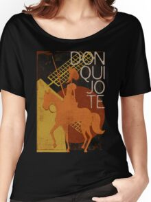 Books Collection: Don Quixote Women's Relaxed Fit T-Shirt