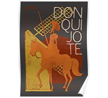 I love books Collection: Don Quixote Poster
