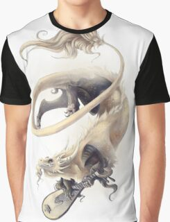 Musical Dragon Graphic T-Shirt