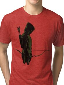 Green Arrow - Oliver Queen Tri-blend T-Shirt