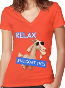 I've Goat This Women's Fitted V-Neck T-Shirt