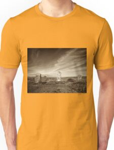 Nine Maidens of Boskednan, Cornwall Unisex T-Shirt