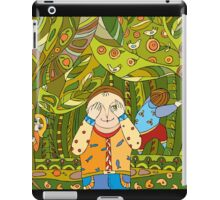 Children's play in forest iPad Case/Skin