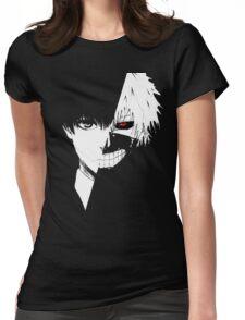 kaneki ken face Womens Fitted T-Shirt