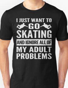 Cool Skating Design T-Shirt
