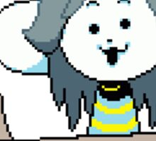 Temmie - Undertale Sticker