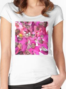 filthy shades of pink Women's Fitted Scoop T-Shirt