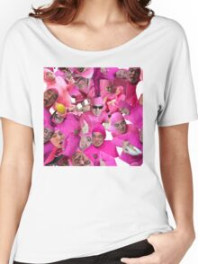 filthy shades of pink Women's Relaxed Fit T-Shirt