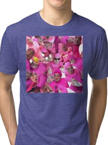 filthy shades of pink Tri-blend T-Shirt