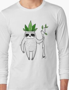 King of Sloth Long Sleeve T-Shirt