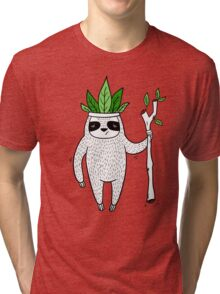 King of Sloth Tri-blend T-Shirt