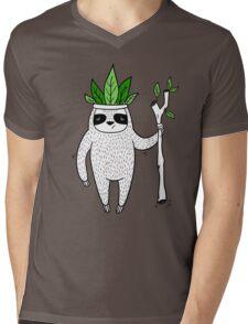 King of Sloth Mens V-Neck T-Shirt