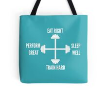 Fitness Compass Tote Bag