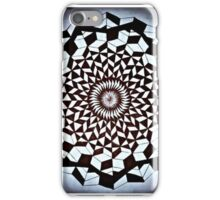 Black White Wrapped Spine iPhone Case/Skin