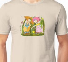 Children Play Grass Unisex T-Shirt