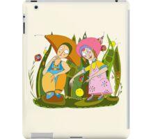 Children Play Grass iPad Case/Skin