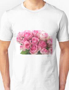Pink Roses Bouquet T-Shirt
