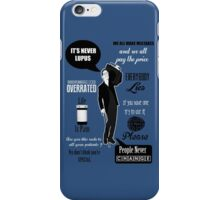 Dr House Montage  iPhone Case/Skin